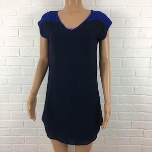 Francesca's Navy sheath dress
